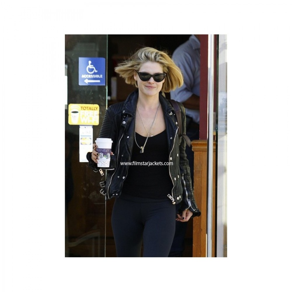 Burberry Prorsum Ali Larter Quilted Jacket