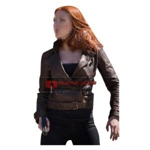 Captain America 2 Scarlett Johansson Jacket