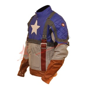 Captain America: The First Avenger (Chris Evans) Leather Jacket