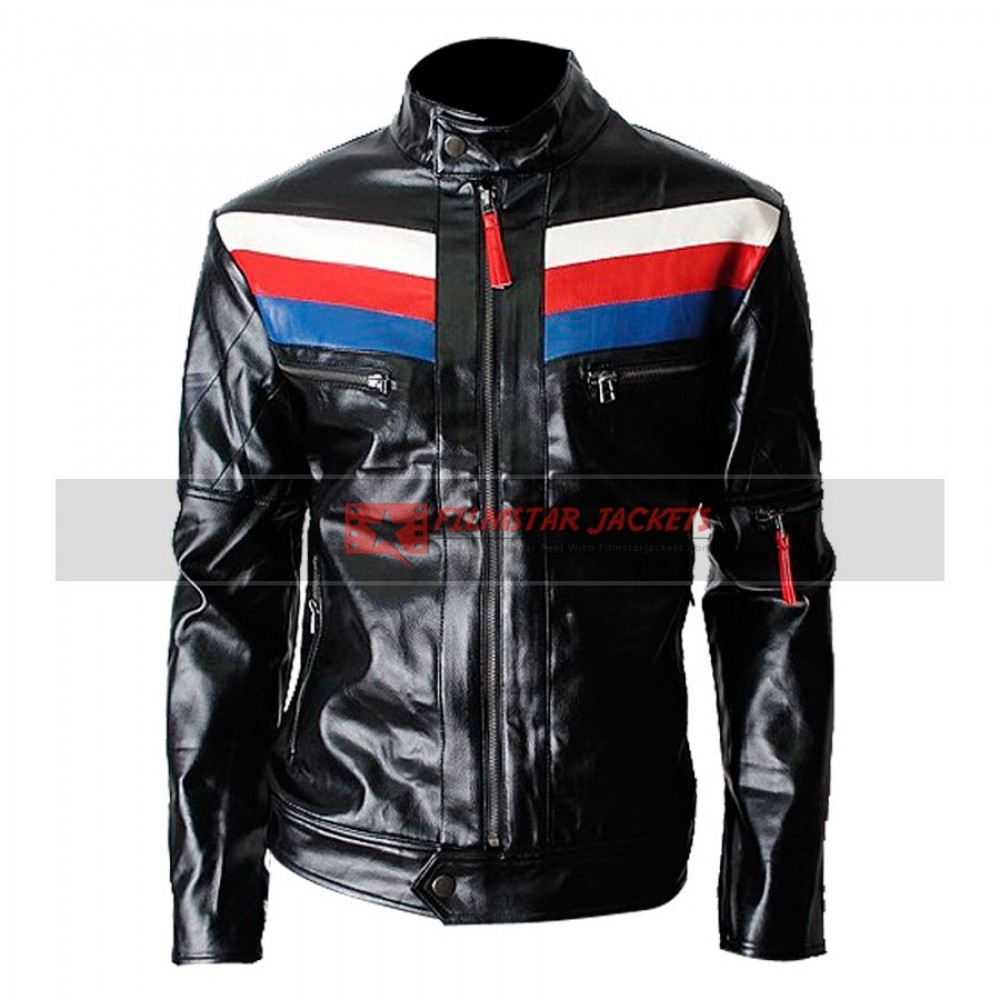Casual Slim-fit Rider Jacket