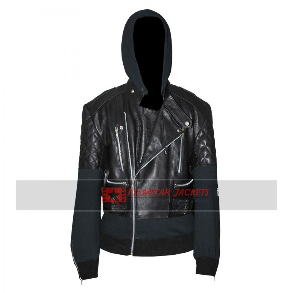 Chris Brown Bomber Black Jacket