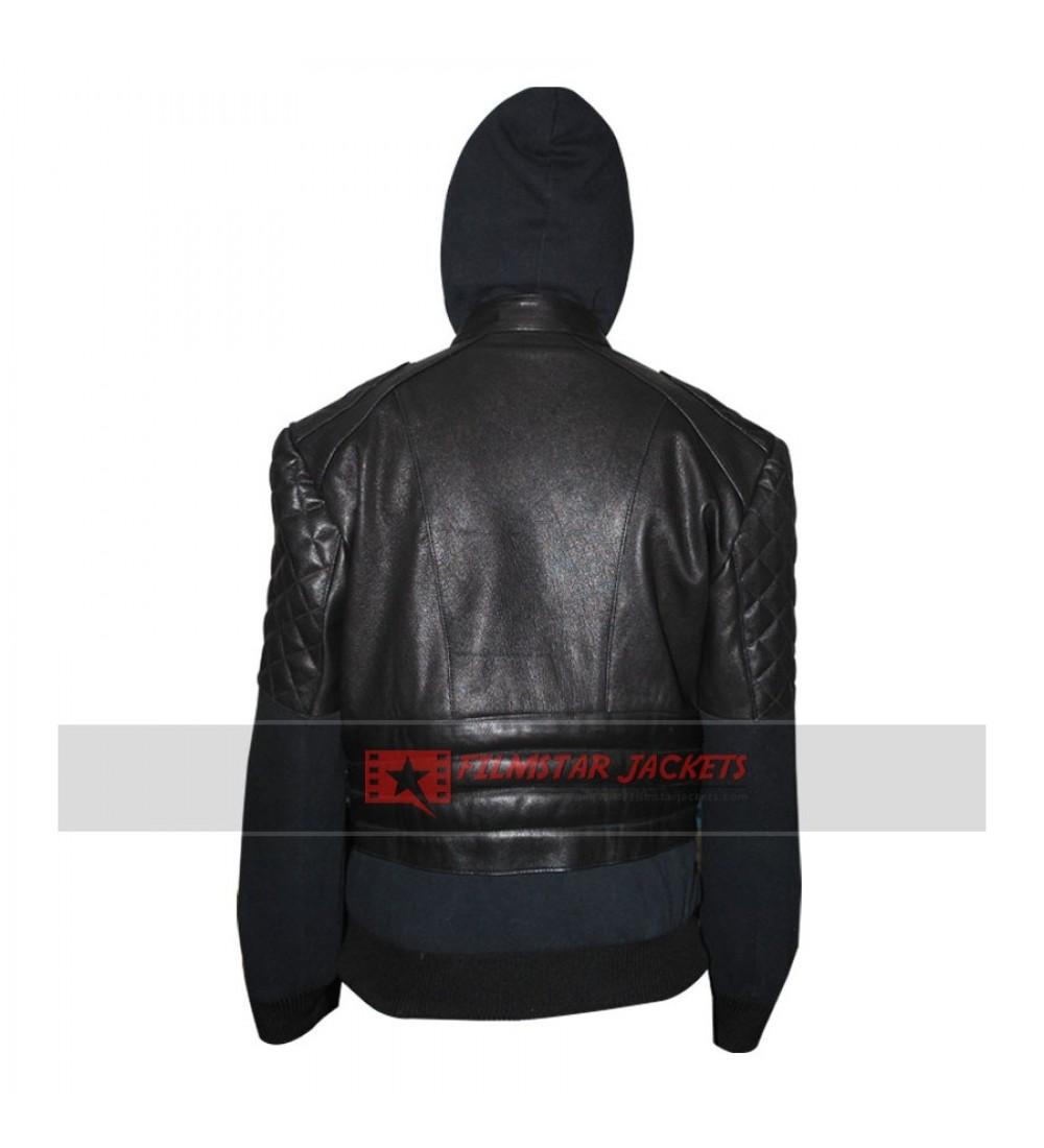 Chris brown leather jacket