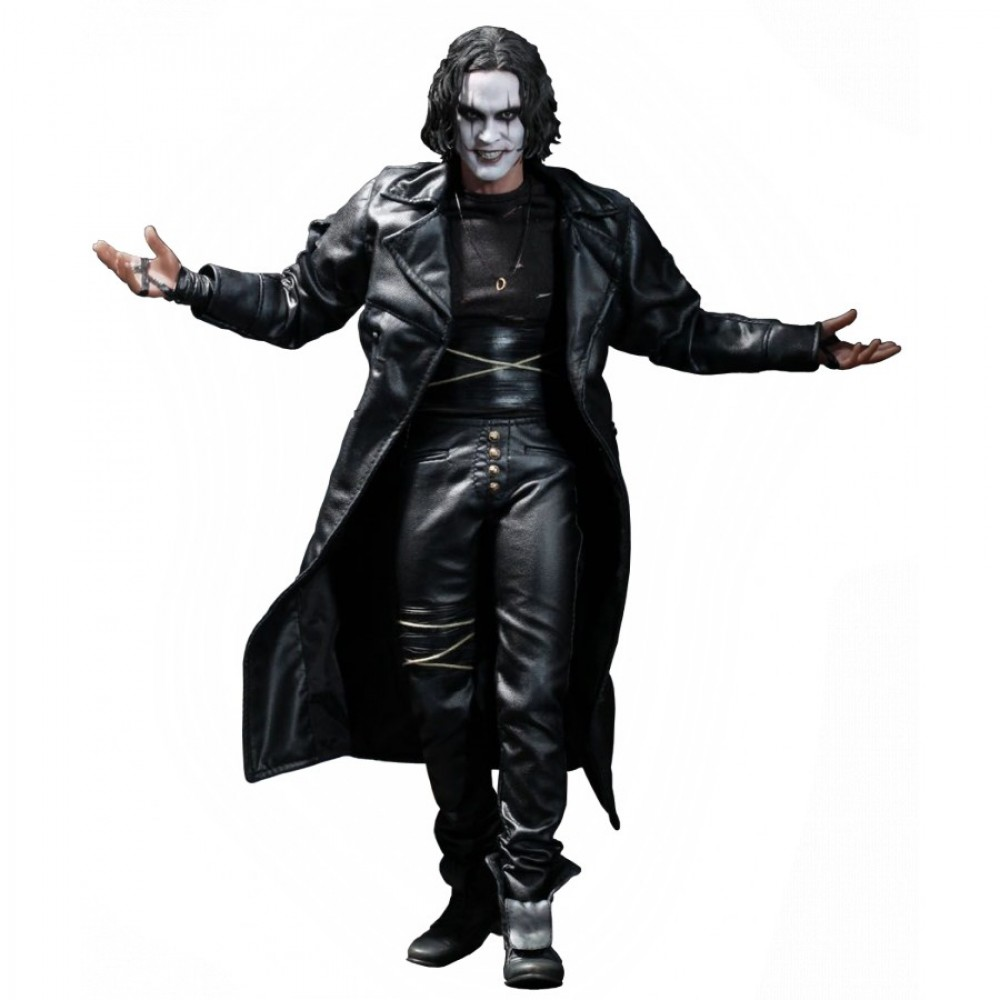 The Crow Eric Draven (Brandon Lee) Leather Costume