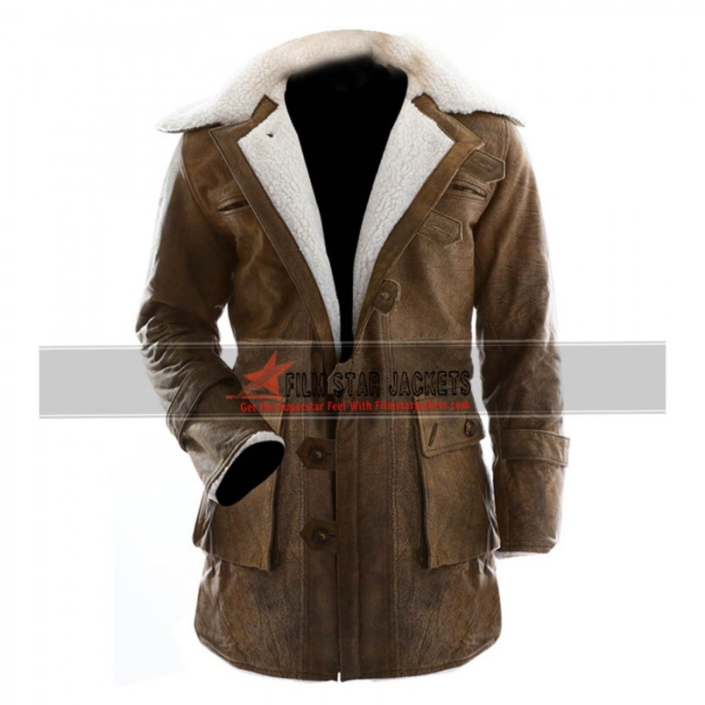 Bane Jacket Trench Coat Inspired by the Dark Knight Rises