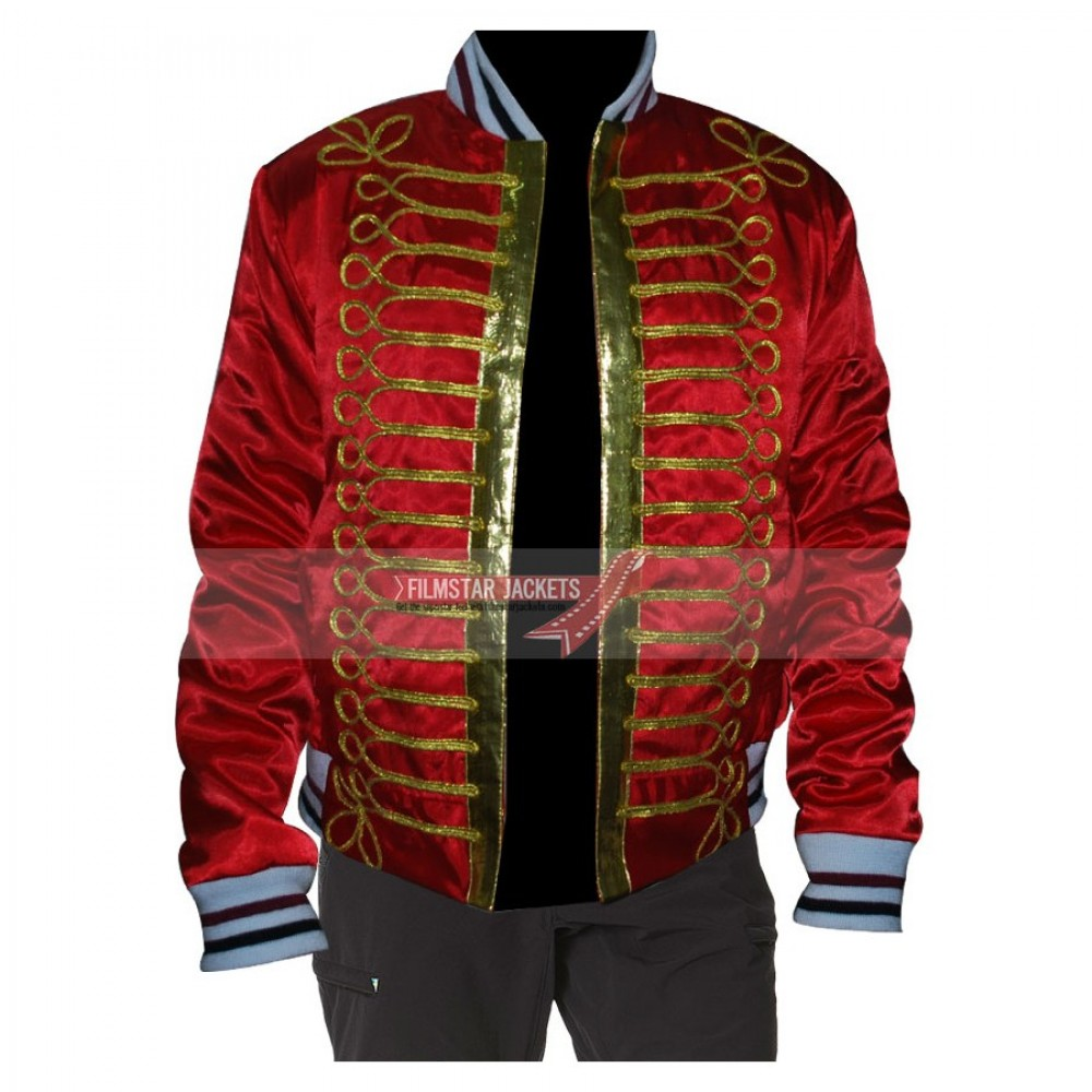 Dior Homme Napoleon Red Jacket