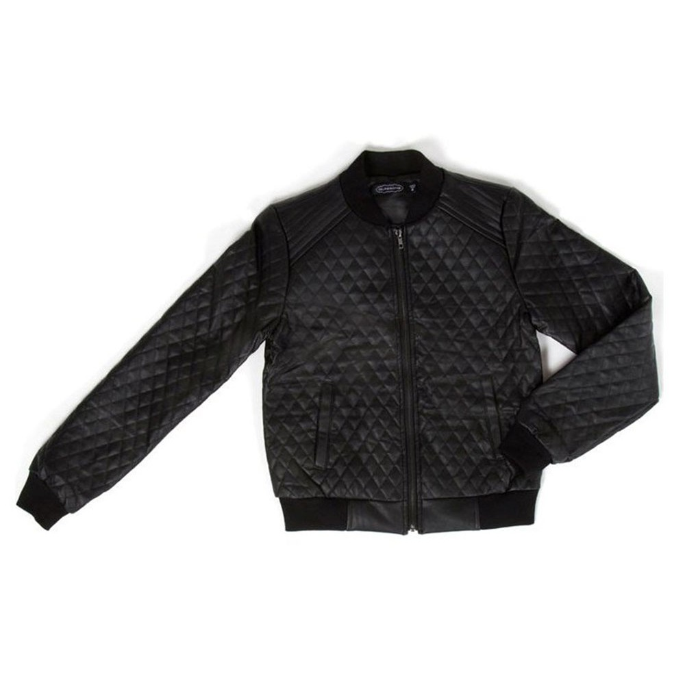 Drake Quilted Leather Jacket