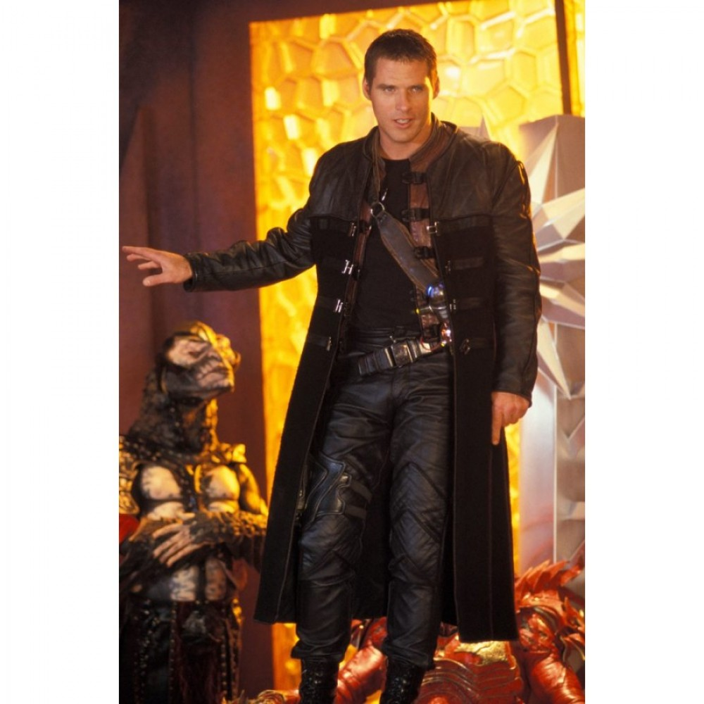 Farscape John Crichton (Ben Browder) Trench Costume/Coat
