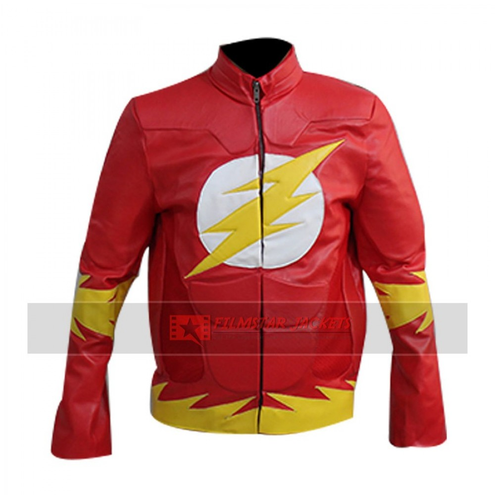 Flash Red Mens Jacket