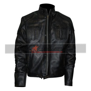 Gerard Butler Black Jacket