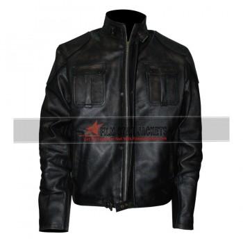 Gerard Butler Black Jacket
