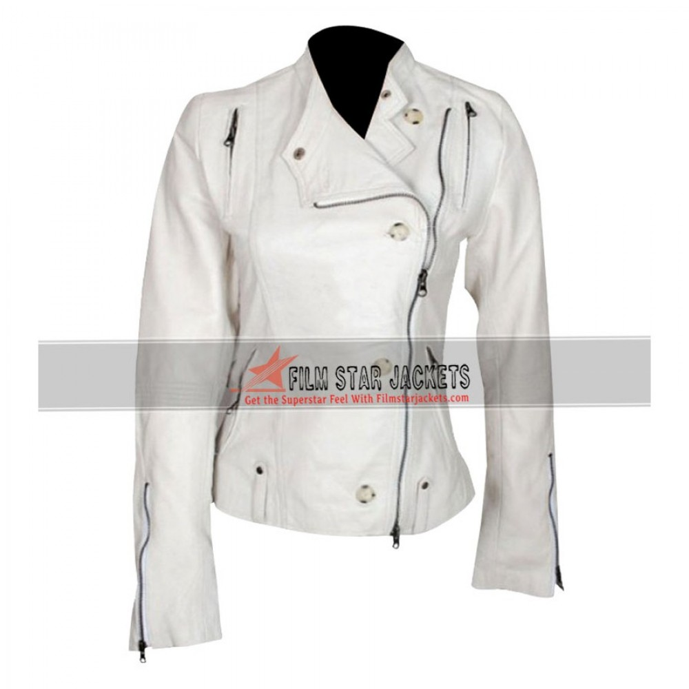 Get Smart Agent 99 (Anne Hathaway) White Jacket
