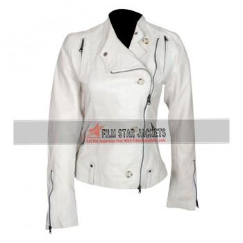 Get Smart Agent 99 (Anne Hathaway) White Jacket