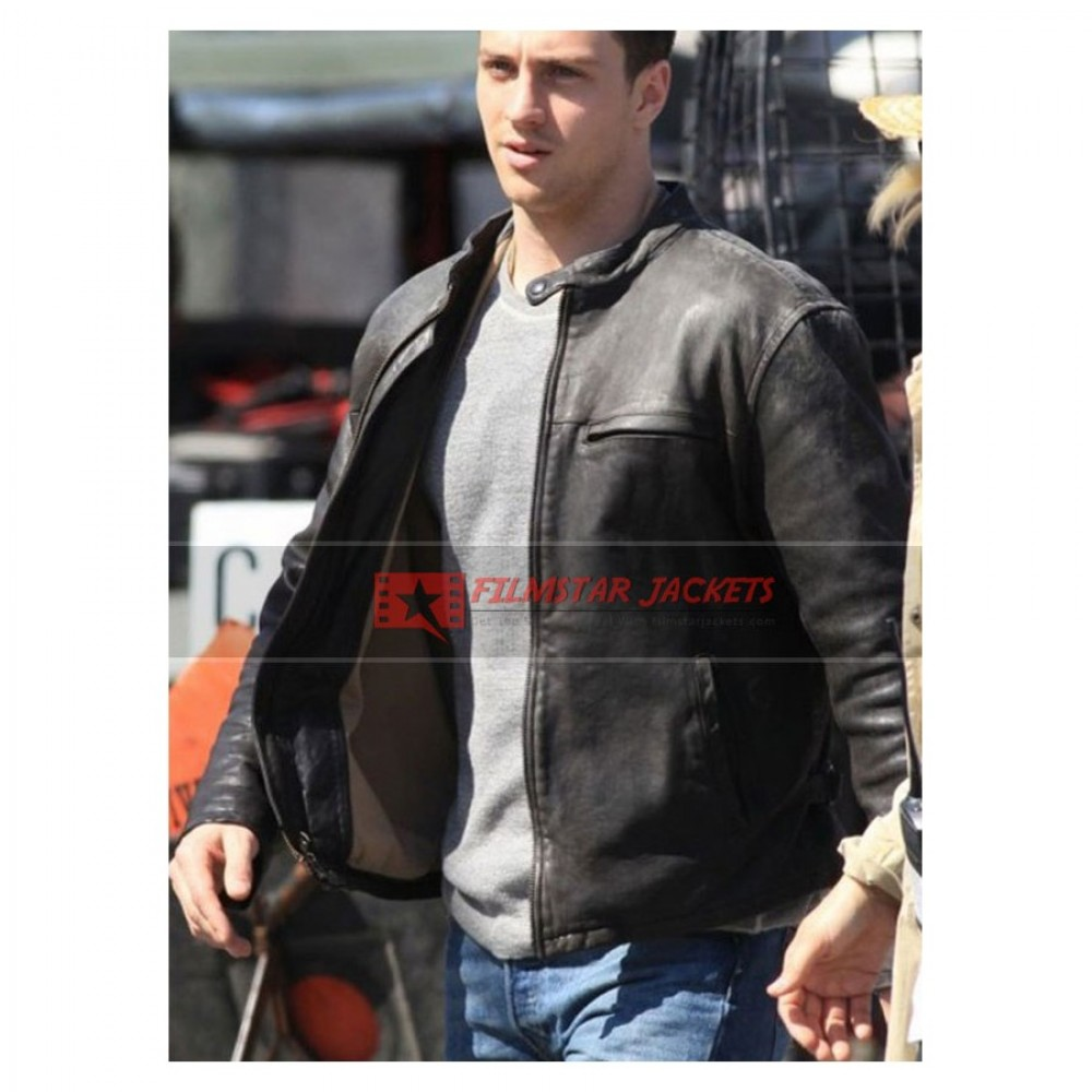 Godzilla Aaron Taylor Leather Jacket