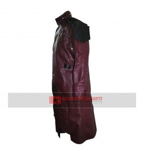 Guardians of the Galaxy Star Lord Costume Trench Coat