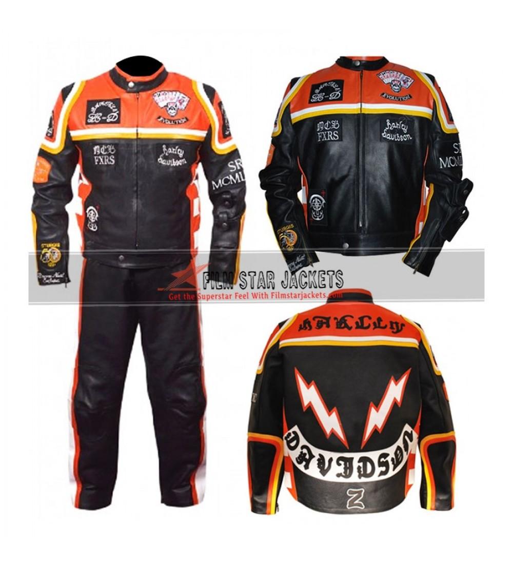 ae183889d Harley Davidson And The Marlboro Man Leather Pants Costume