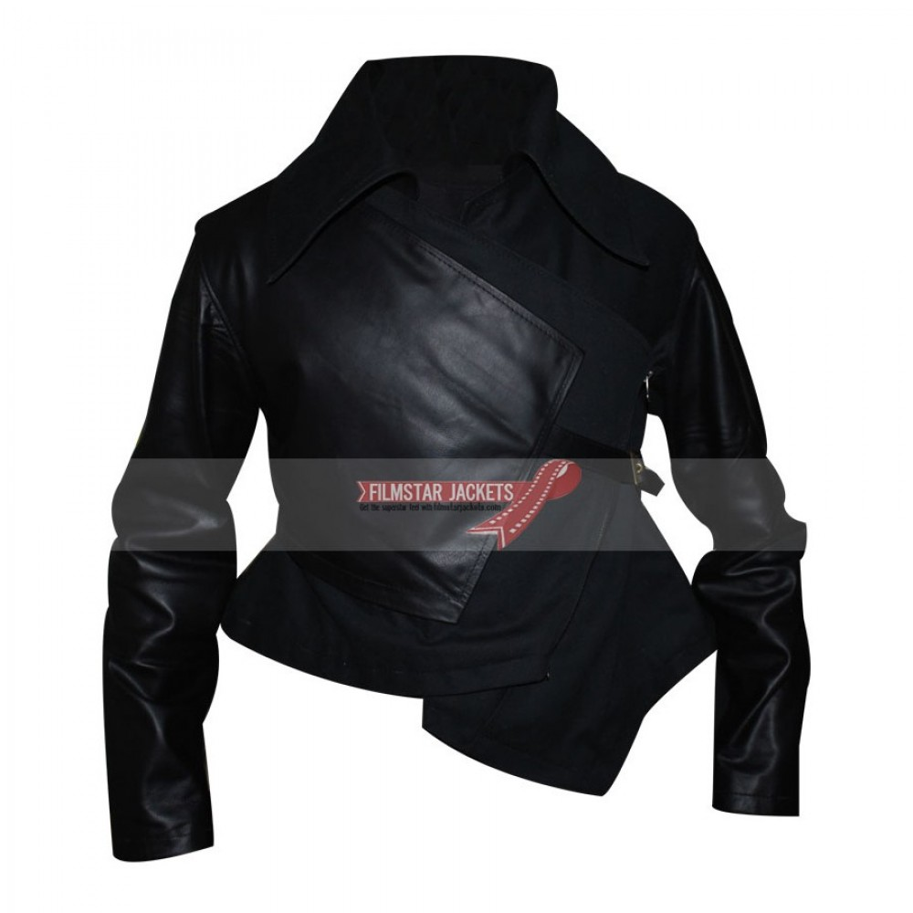 The Hunger Games Catching Fire Jennifer Lawrence Black Jacket