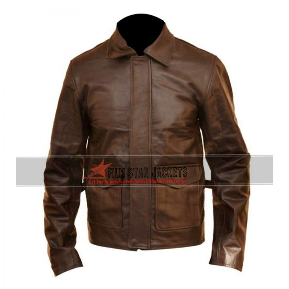 Brown Leather Indiana Jones Jacket – Harrison Ford