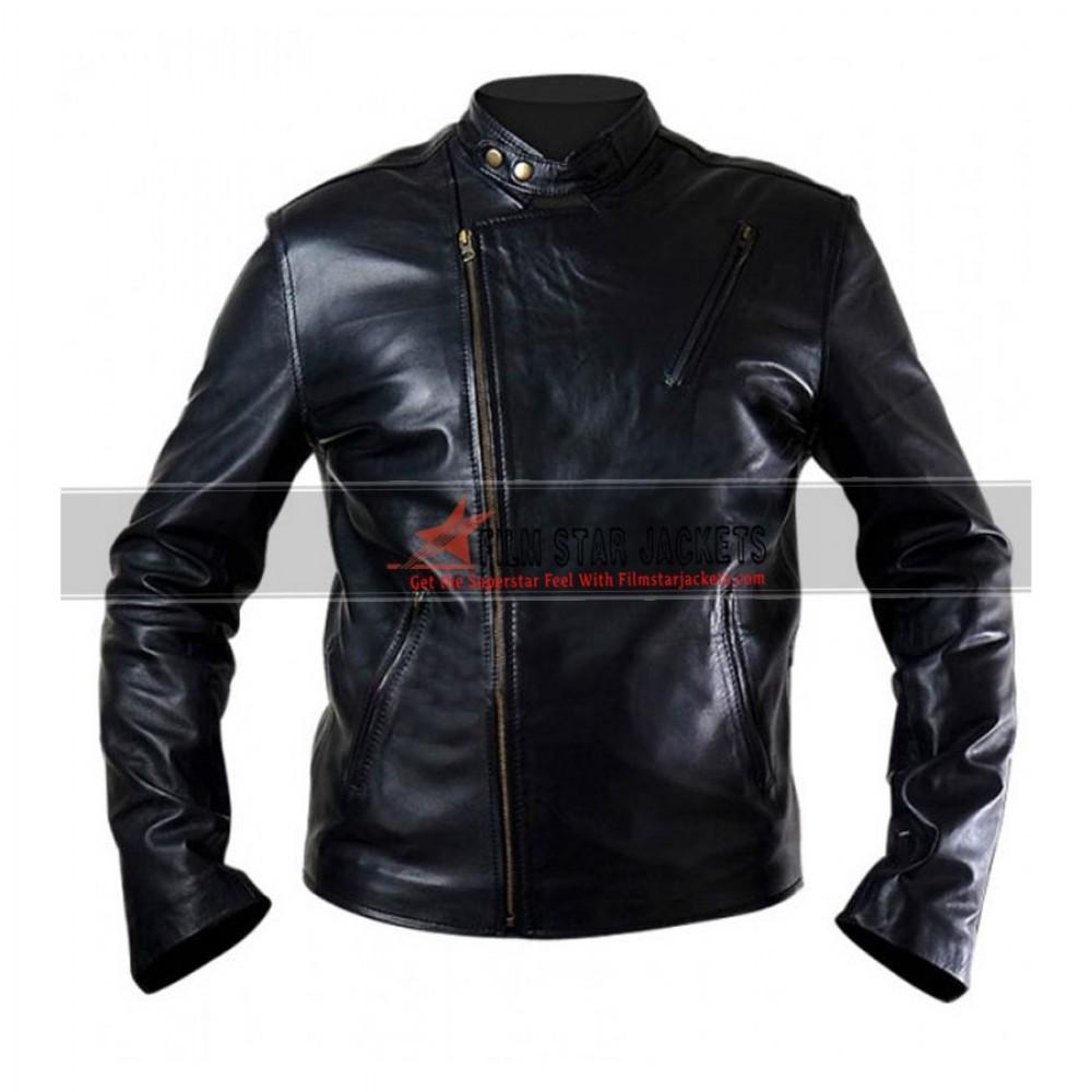 Iron Man: Tony Stark Black Replica Jacket Sale