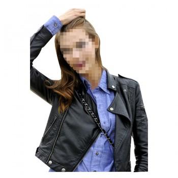 Karlie Kloss Black Jacket