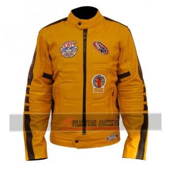 Kill Bill Uma Thurman Biker Jacket