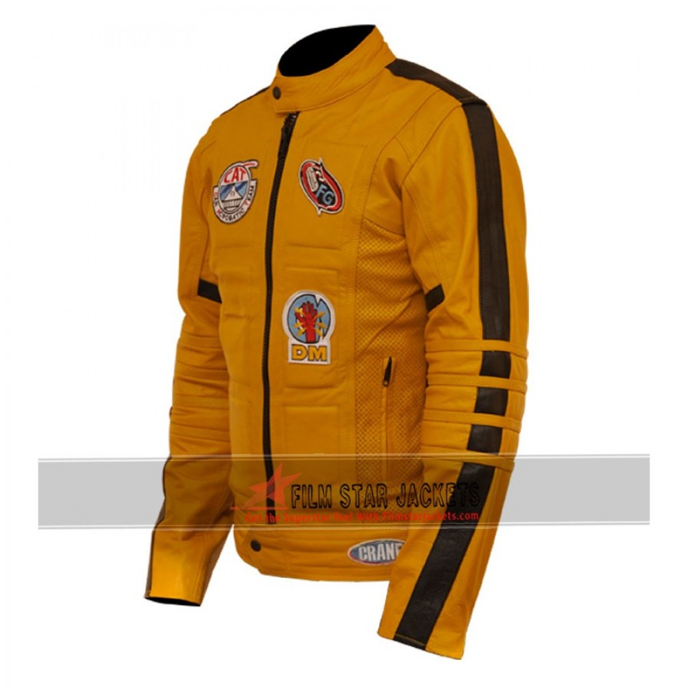Kill Bill Uma Thurman Biker Jacket