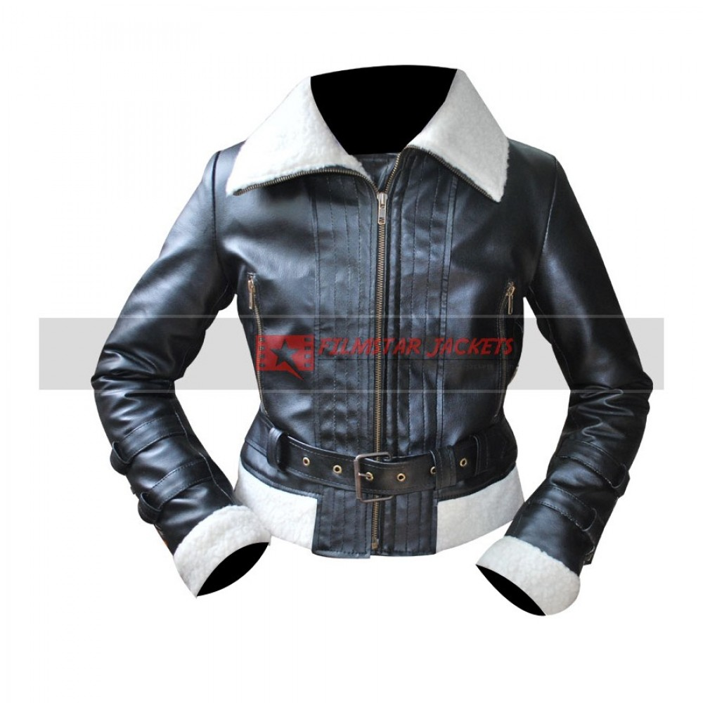 Ladies Aviator Shearling Jacket