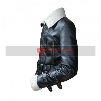 Ladies Aviator Shearling Jacket