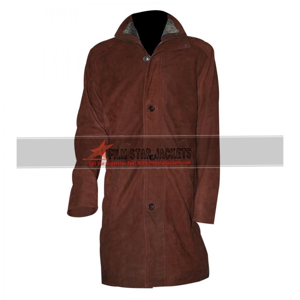 Longmire Sheriff Walt (Robert Taylor) Trench Leather Jacket