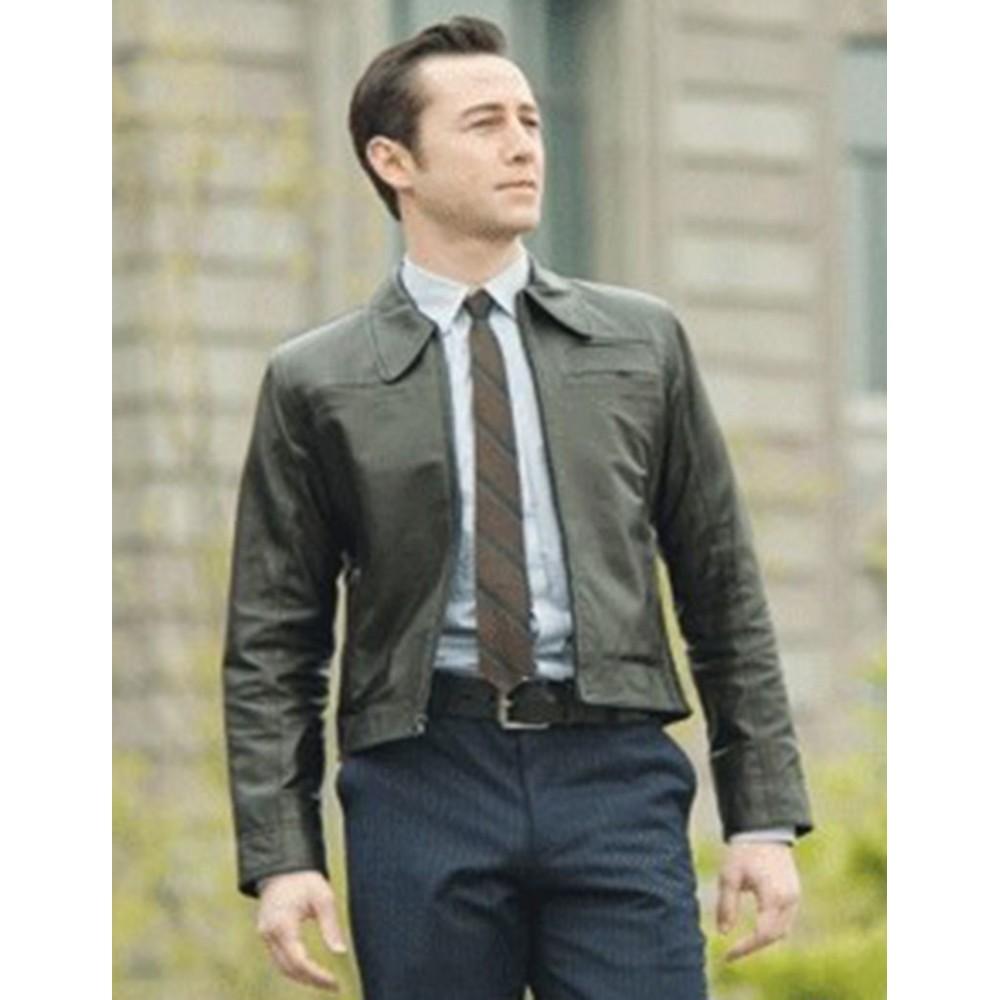 Looper: Joseph Gordon-Levitt (Joe) Black Leather Jacket