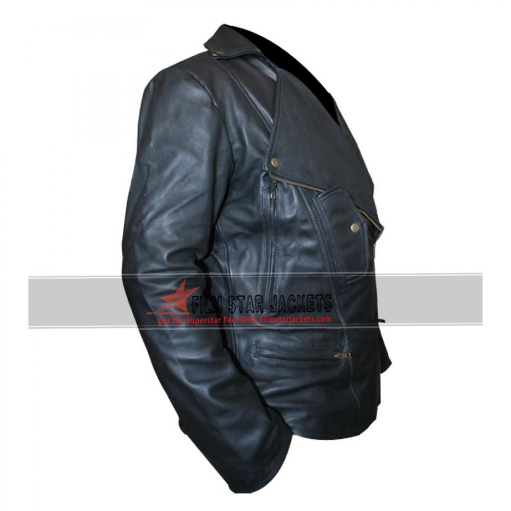 Mens Biker Style Jacket