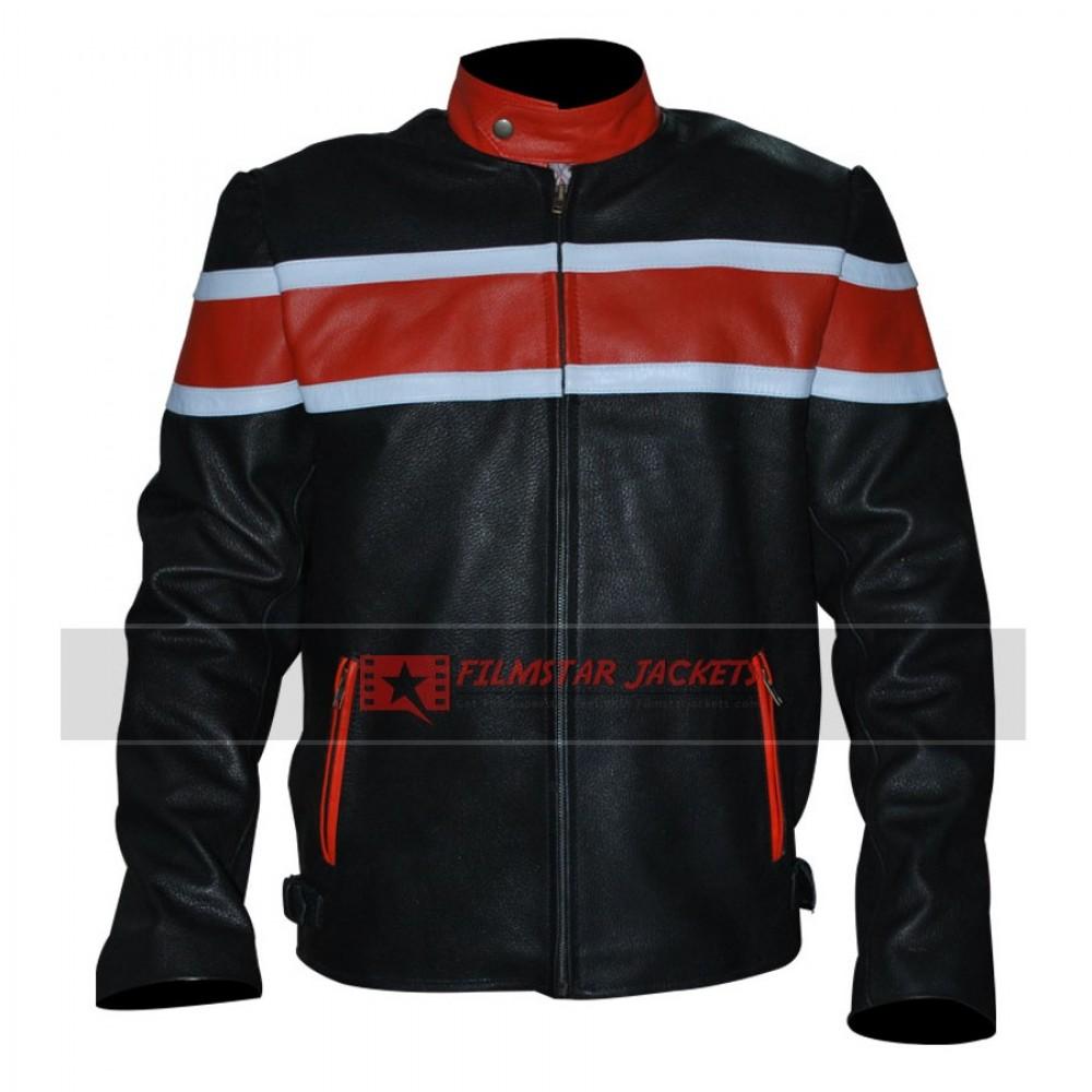 Mens Black & Orange Jacket