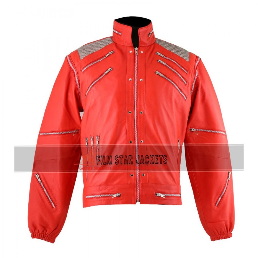 Michael Jackson Beat It Red Jacket For Sale