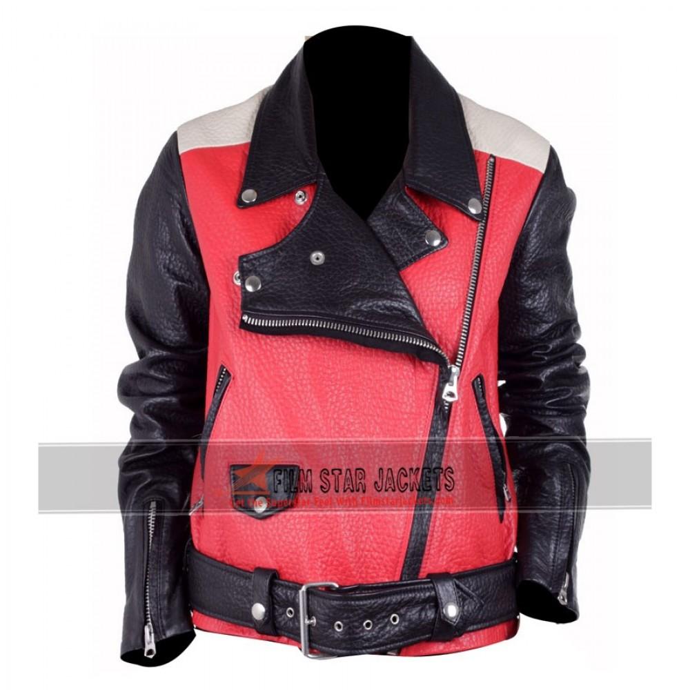 Miranda Kerr Colorblock Acne Jacket