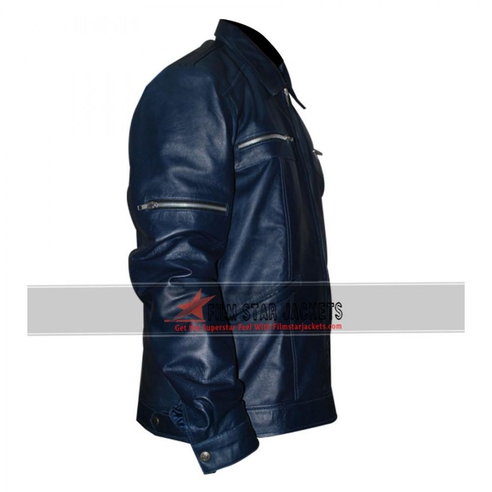 Navy Blue Designer's Jacket
