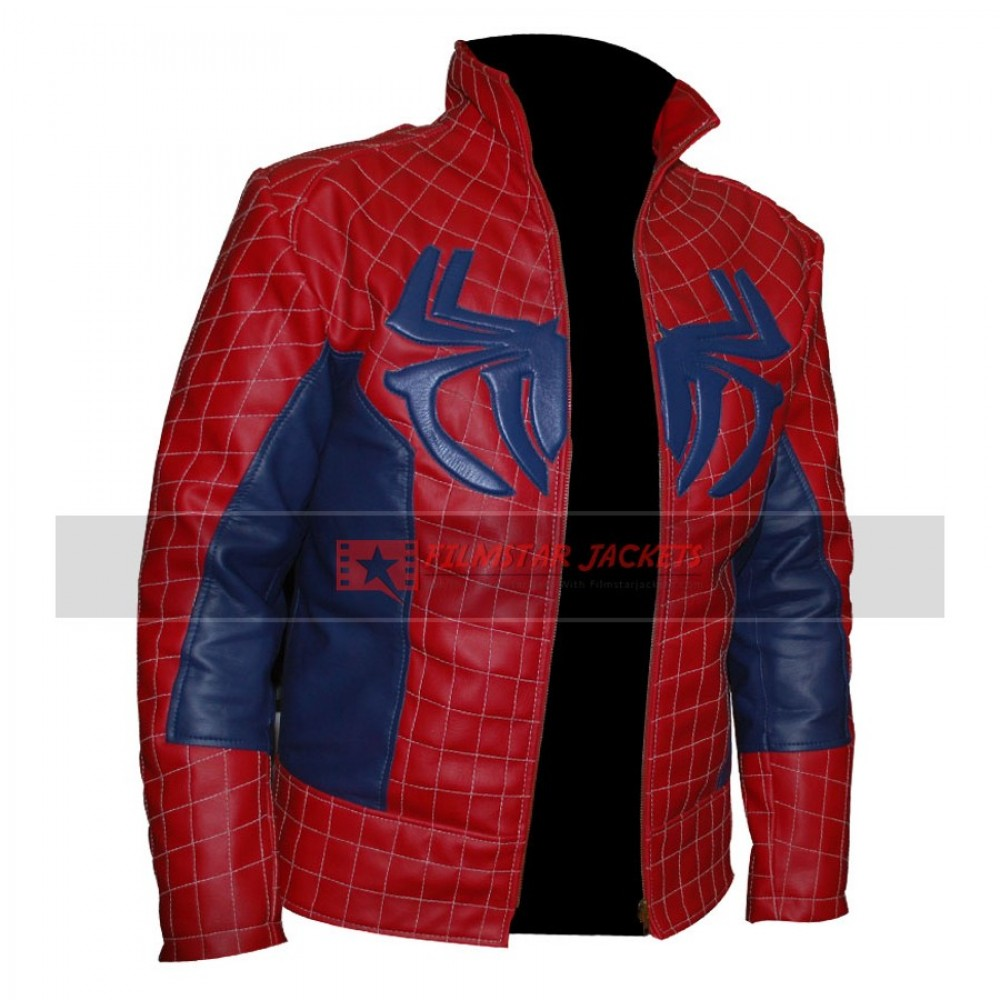 New Spider Man Design Jacket