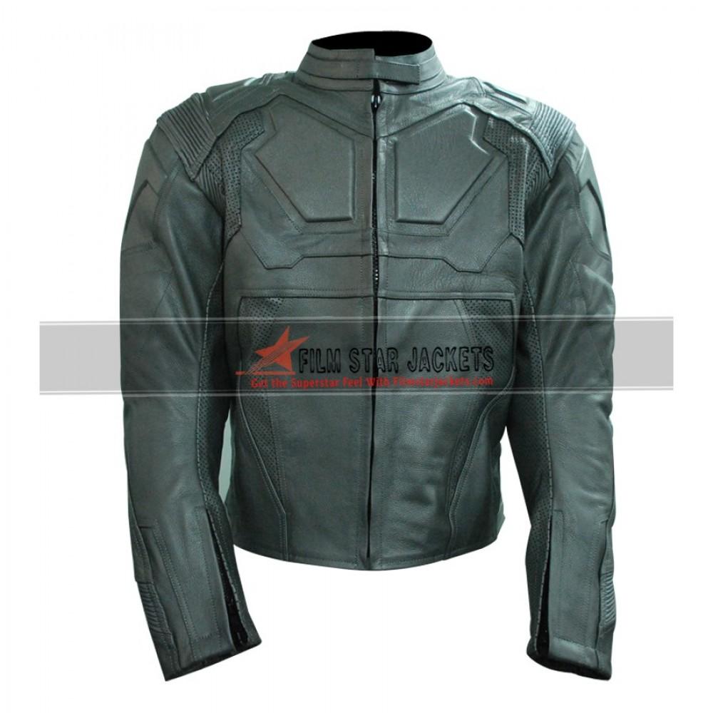 Tom Cruise Oblivion Biker Leather Jacket For Men
