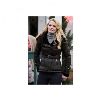 Once Upon A Time Emma Swan Black Jacket