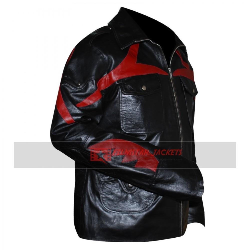 Prototype 2 Sgt James Heller Black Leather Jacket