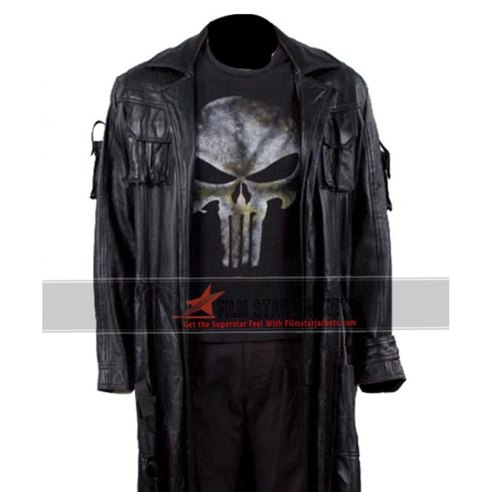 Punisher Thomas Jane Coat