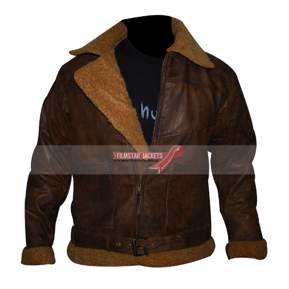 Ralph Lauren Polo Shearling Bomber Jacket