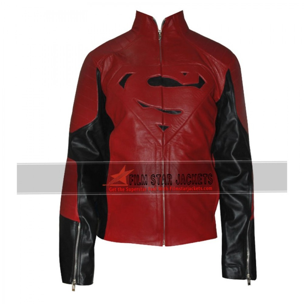Superman Red Black Contrast Jacket
