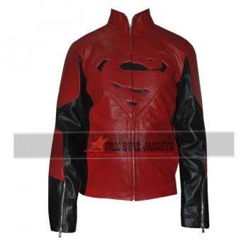 Superman Red Black Contrast Jacket