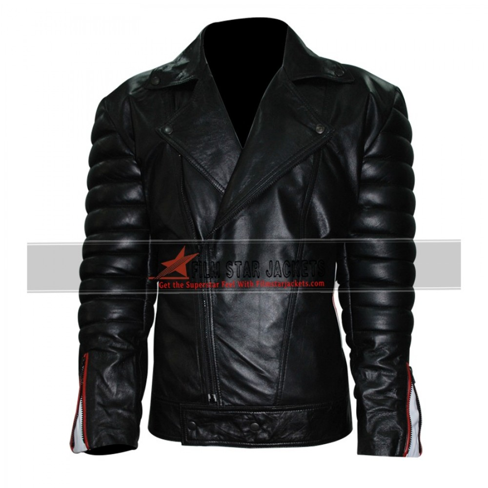 Blue Valentine Ryan Gosling Black Leather Jacket