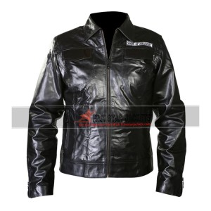 Sons Of Anarchy Biker Jacket With Patches