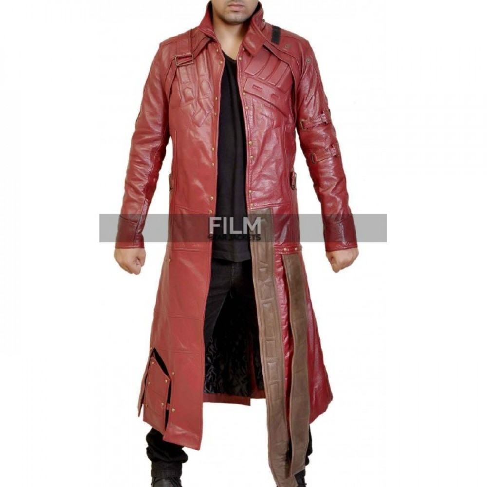 Starlord Peter Quill Inspired Guardians Galaxy Costume Coat