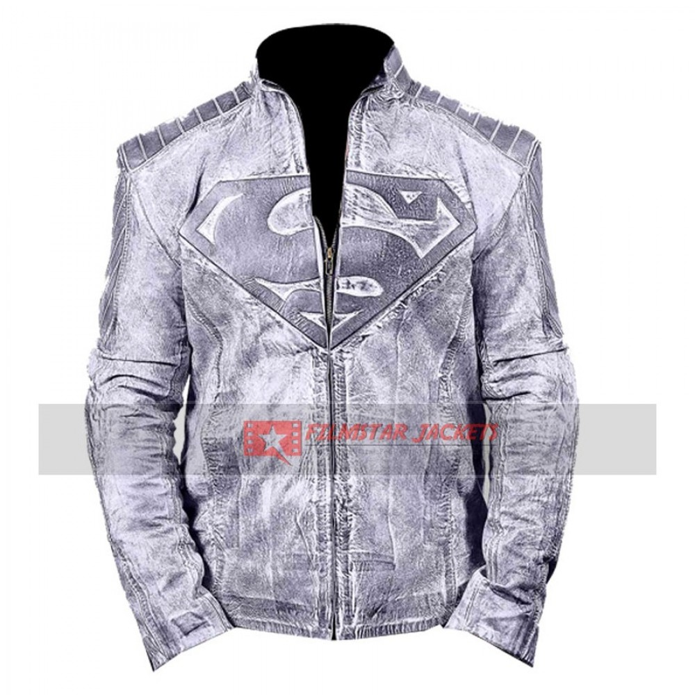 Superman Black Waxed Jacket