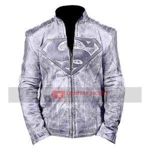 Superman Black Waxed Jacket