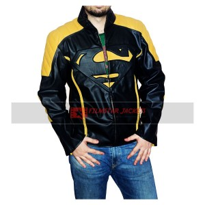 Superman Black Yellow Jacket