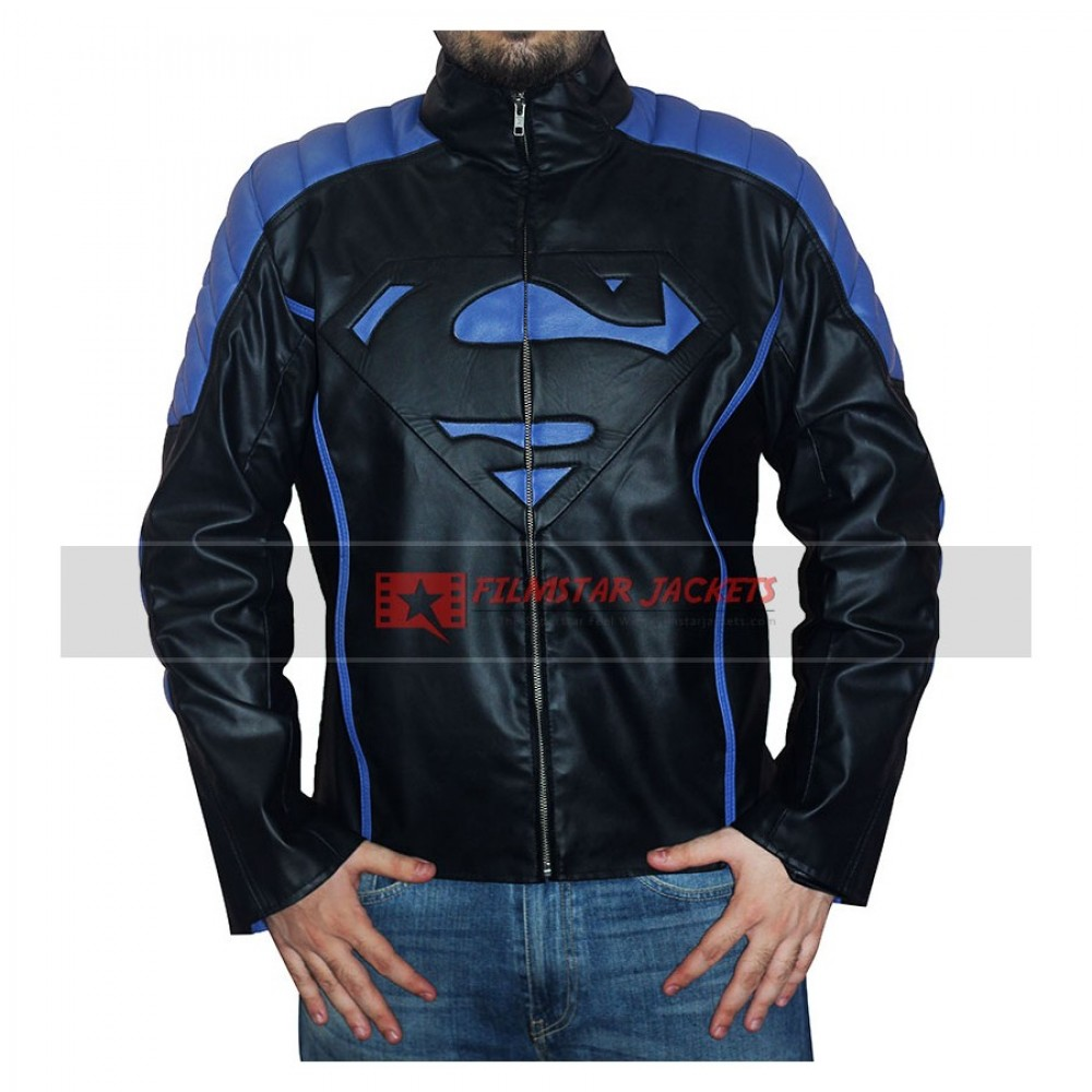Superman Blue & Black Jacket