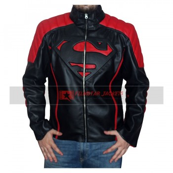 Superman Black And Red Jacket